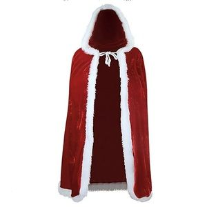 Other - Christmas hooded cape costume